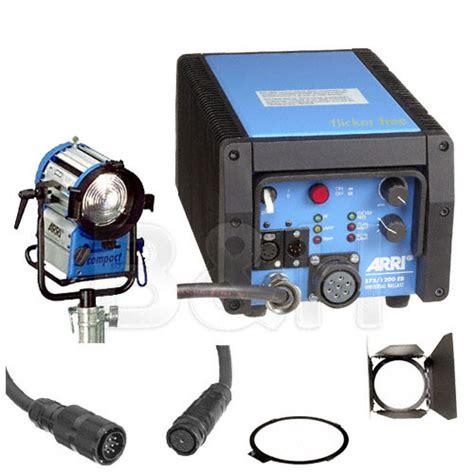 arri light kit arri compact hmi 575w fresnel light kit b h photo