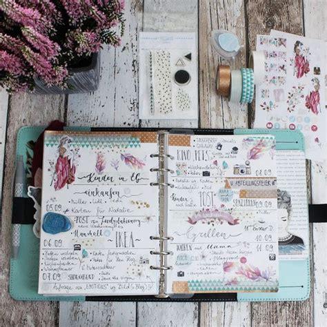 ideen für fotokalender selbst gestalten creative pages by amaryllis775 filofaxing