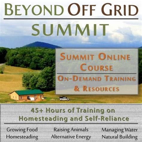 country living win enter to win the beyond off grid summit online course valued at 197 packed with 45 hours of
