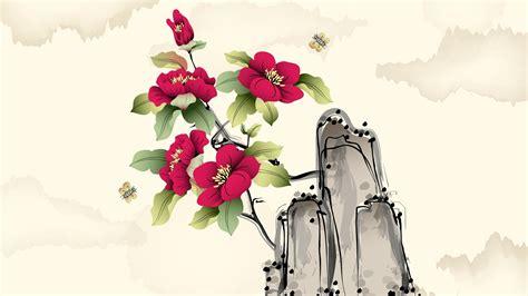 flower drawing wallpaper