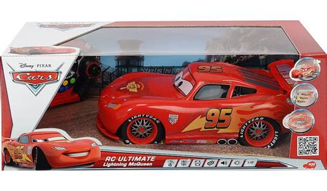 Disney Cars Remote Control Lightning Mcqueen Racing Car