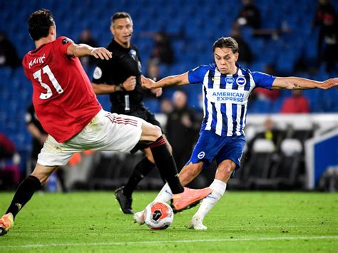 Brighton & Hove Albion vs Manchester United confirmed ...