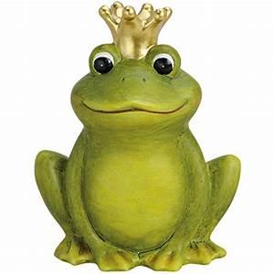 Frosch Deko Garten : froschk nig deko frosch mit krone test ~ Articles-book.com Haus und Dekorationen