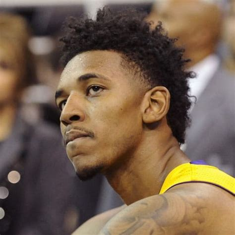 nick young haircut swaggy p hairstyle mens hairstyles