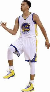 Stephen Curry On One Foot transparent PNG - StickPNG