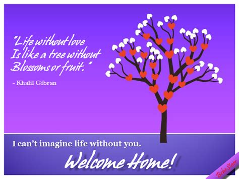 Welcome back greeting messages m4hsunfo