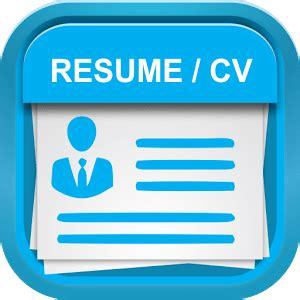 smart resume builder cv   android
