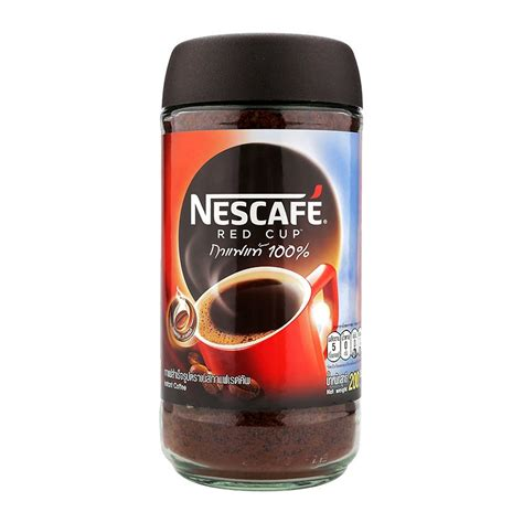If you asked me whether i recommend you to try instant coffee or not, i would ask you first what kind of coffee drinker you are. NESCAFE RED CUP INSTANT COFFEE 200G