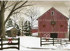The Christmas Barn Box of 18 Christmas Cards by LPG Greetings