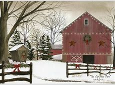 The Christmas Barn Box of 18 Christmas Cards by LPG Greetings