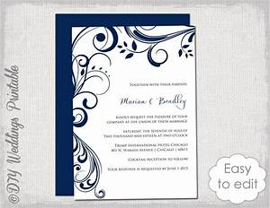 word scroll template gsebookbinderco With edit photo wedding invitations