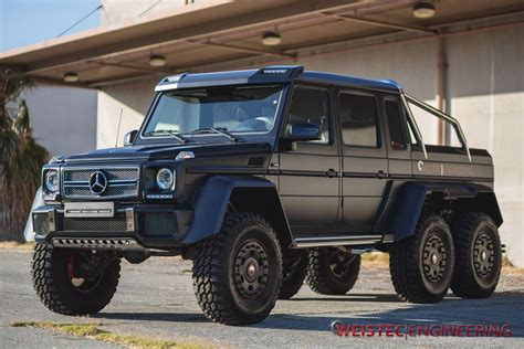 Mercedes G63 Amg 6x6 by Tuningcars Official Mercedes G63 Amg 6 215 6 By Weistec