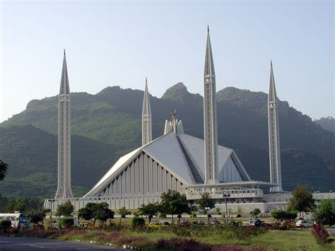 Faisal Mosque Hd Pics by Damer Faisal Mosque In Islamabad October 1 2003