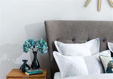 cino upholstered bed frame light grey bedroom furniture