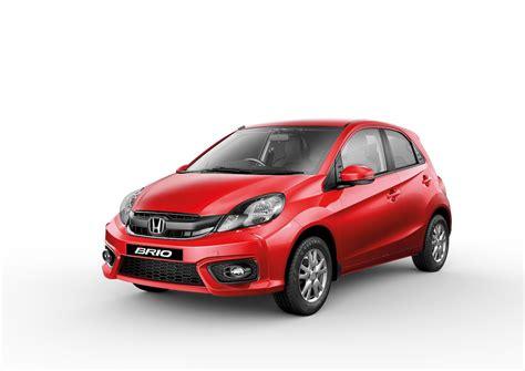2016 honda brio facelift launched at inr 4 69 lakhs