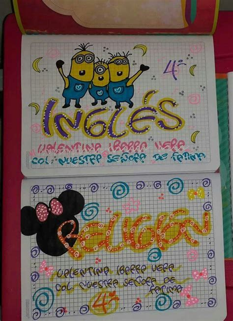 25 best about cuadernos marcados decorated notebooks and lettering