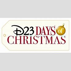 Fans Celebrate The D23 Days Of Christmas  Disney Parks Blog