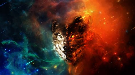 A collection of the top 34 galaxy wolf wallpapers and backgrounds available for download for free. Hd Wolf Wallpaper - WallpaperSafari