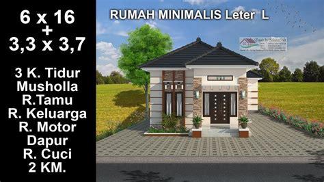 gambar desain rumah leter  terbaru gambar rumah