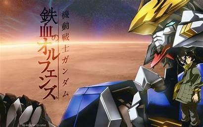 Gundam Barbatos Blooded Orphans Iron Android Mobile