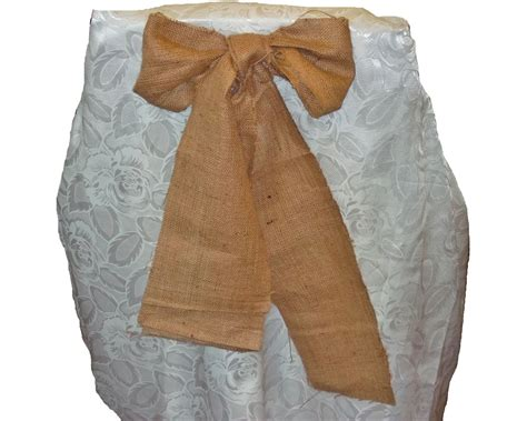burlap chair sashes your fabric source wholesale