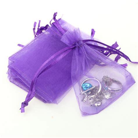 Small Organza Bags 5X7CM 500pcs/Lot Dark Purple Cheap ...