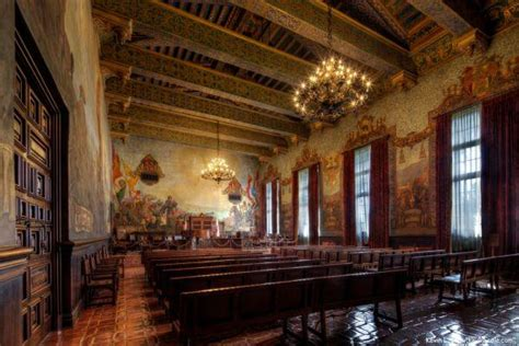 santa barbara courthouse mural room historic high def photographs by kevin cole ghosts