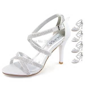 silver dress shoes for wedding laras brand silver white wedding shoes for diamante stilettos high heel