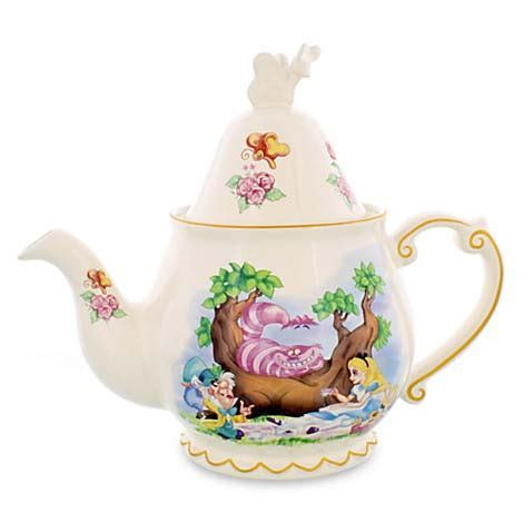 Your WDW Store   Disney Tea Set   Alice in Wonderland Teapot