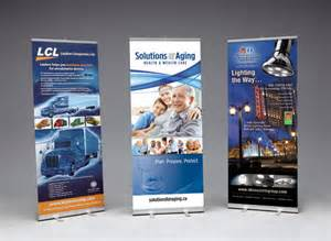 Trade Show Retractable Banner Stands