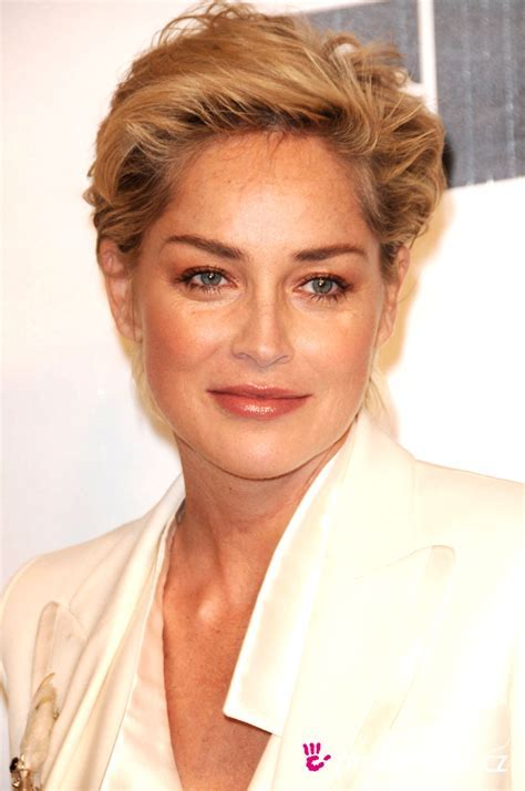 Sharon Stone   fryzura   HappyHair