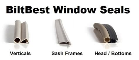 bilt  oem casement windows crank open awning window complete weather strip seal