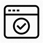 Icon Interface Pager Correct Incorrect Error Wrong