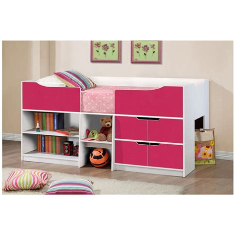Cabin Beds by Paddington Cabin Bed Pink White Bedroom Fads