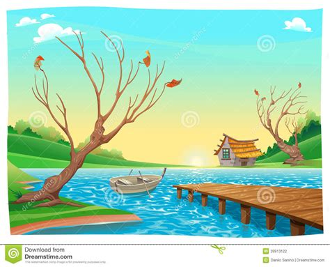 Boat On Lake Clipart by Lake Boats Clipart Clipground