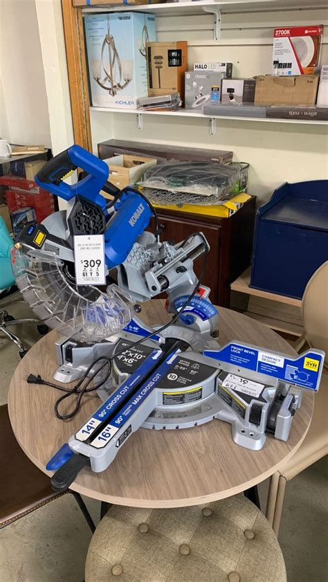 Also table saw fence could be easily removed if there's need to use cross cut sled, for example. Kobalt Table Saw for Sale in Bakersfield, CA - OfferUp