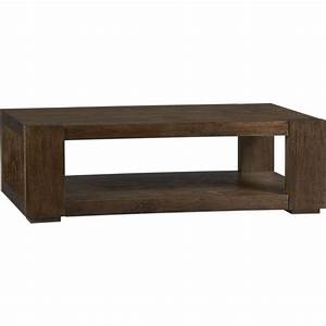 Lodge coffee table crate and barrel for Coffee table crate and barrel