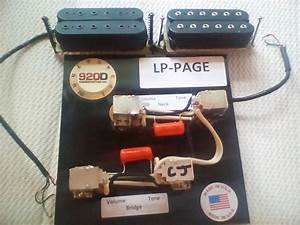 Epi Lp Upgrade Kit With Jimmy Page Wiring Harness