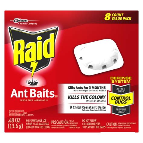 raid ant baits 8 count 619864 the home depot