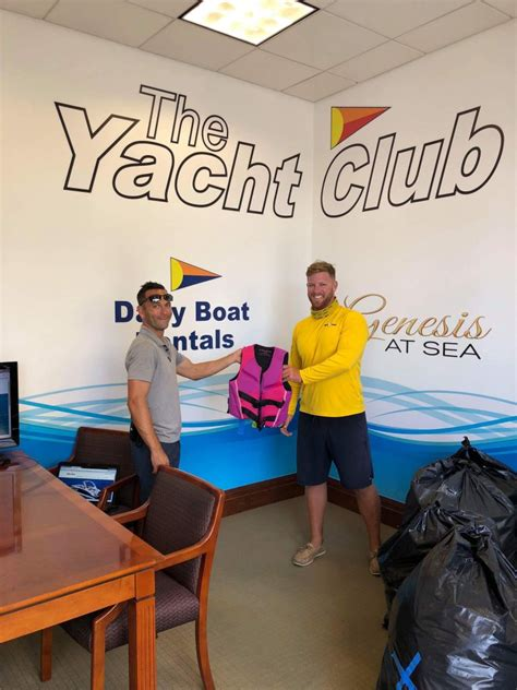 Tow Boat Fort Lauderdale by Marina One Donates 30 Jackets To Sea Tow Fort