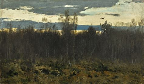 ISAAK ILICH LEVITAN   EVENING, STUDY   Russian Pictures ...