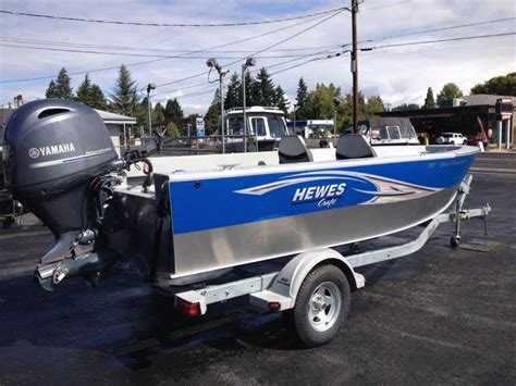 Hewes Boats For Sale In Oregon by Hewescraft Open Fisherman Boats For Sale In Portland Oregon