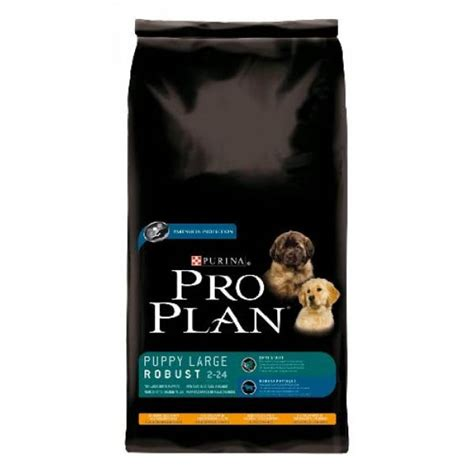 pro plan puppy large breed robust chicken rice