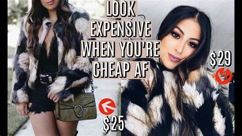 How To Look Expensive For Cheap! Luxury Looks For Less