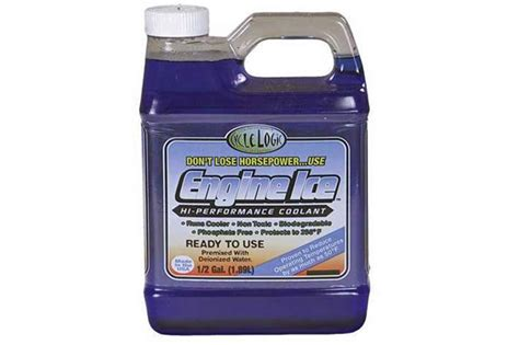 Engine Ice Hi-performance Coolant Perfect For Summer