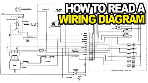 read electrical wiring diagram how to read an electrical wiring diagram youtube
