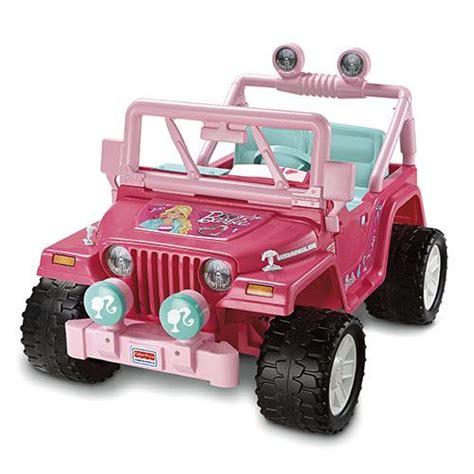 barbie jeep 2000 power wheels barbie jammin jeep wrangler parts