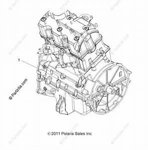 Polaris Atv 2016 Oem Parts Diagram For Engine Long Block