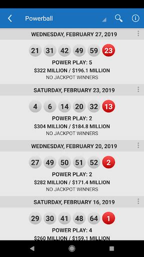 Five correct numbers + powerball. Lotto Results - Mega Millions Powerball Lottery US APK ...