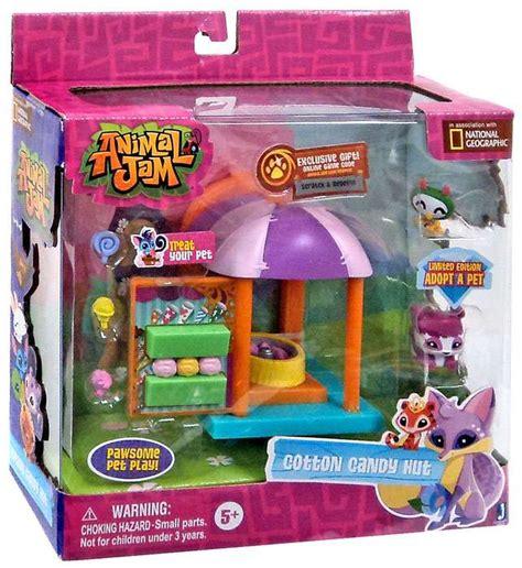 animal jam cotton candy hut playset walmartcom